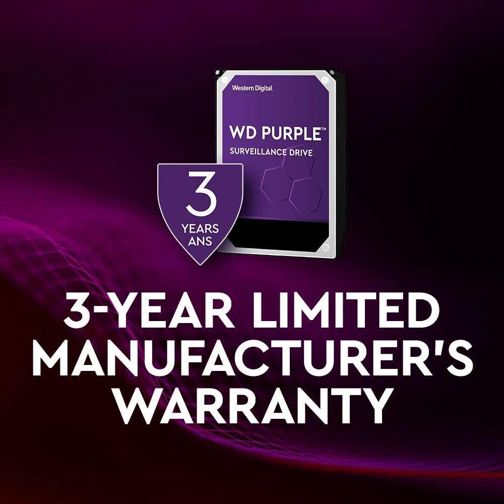 Western Digital Purple 3 Year Warranty