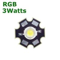 TKL-HP3RGB | POWER LED 3 WATTS RGB - WITH DISSIPATOR