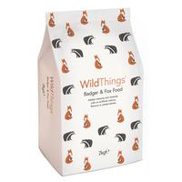 Wild Things Badger & Fox Food 2kg x 1 [Zero VAT]