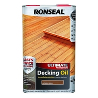 RONSEAL ULTIMATE PROTECTION DECKING OIL NATURAL CEDAR 5L
