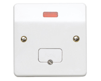 MK LOGIC PLUS  UNSWITCHED SPUR UNIT WITH NEON INDICATOR