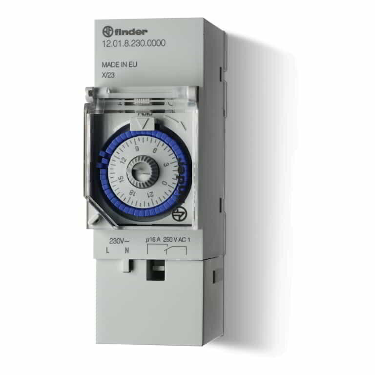 Finder 12 Series Time Switch 1C/O 16A 12.01.8.230.0000