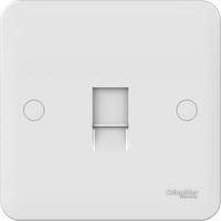 Schneider LWM single RJ11 telephone/data outlet