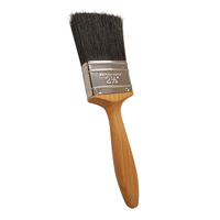"1"" 25mm Series 160 Clear Handle Paint Brush Pure Bristle (WT154)"