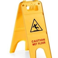 SAFETY SIGN WET FLOOR