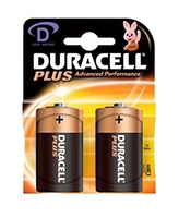 Batteries Duracell D-Type MN1300 Pkt2