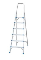 6 TREADS ALUMINIUM STEP LADDER
