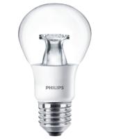 6W-(40W) PHILIPS  MST LED E27 WW  2200K-2700K 470LM DIM TONE