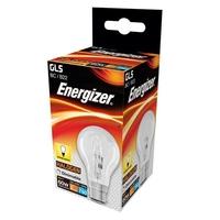ENERGIZER ECO HALOGEN 48W (60W) B22 CLEAR GLS LAMP
