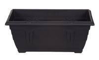 WHITEFURZE 40CM VENETIAN WINDOW BOX BLACK