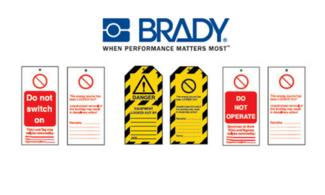 Brady Safety Tags