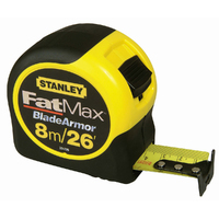 STANLEY FAT-MAX MEASURING TAPE 8MTR (26FT)