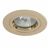 Polished Brass IP44 Twist-Lock Bathroom Downlight | LV1002.0032