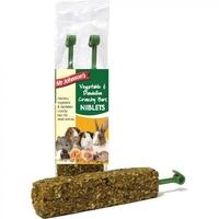 Mr Johnson's Niblets - Vegetable & Dandelion Crunchy Bars 120g x