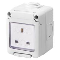 Socket IP 40 13A Single Socket