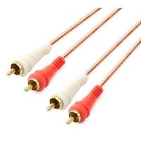 AP-R22-6 | RCA 2X2 CABLE, COPPER, 6FT,1.8M