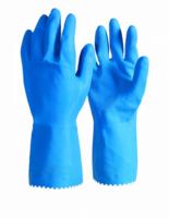 Industrial Silverlined Nitrile Blend Glove