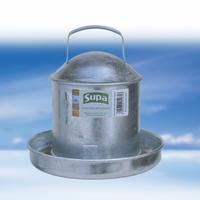 Supa Galvanised Steel Poultry Feeder x 1