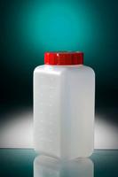 Square Bottle 500ml Hdpe Na 4 X 175 U