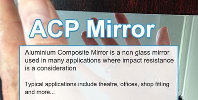 ACP Mirror - 3mm | 1220 x 2440mm