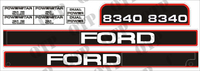 Decal Kit Ford 8340