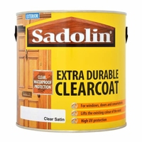 SADOLIN EXTRA DURABLE CLEARCOAT SATIN 2.5LTR