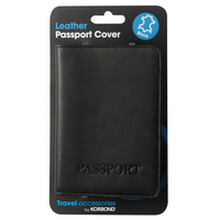 Korbond Travel Leather Passport Cover