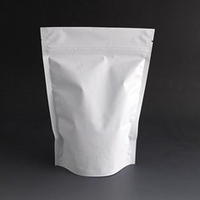 250g Matt white stand up pouch