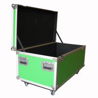 Prostage Flightcase for 8 of 1m x 0.5m panels & risers