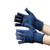 Bodytech Navy Thermal Gloves, Pair