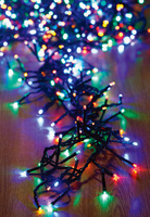 480 Cluster Lights (6Xwarmwhite/3Xmulticoloured/3Xcoolwhite