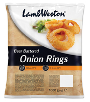 Beer Battered Onion Rings Lamb Weston OR1A  1kg