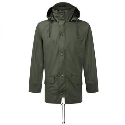 Fortress 221 Green Air Flex Rain Jacket