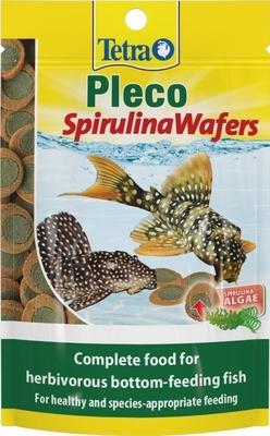 Tetra Pleco Spirulina Wafers 42g x 1