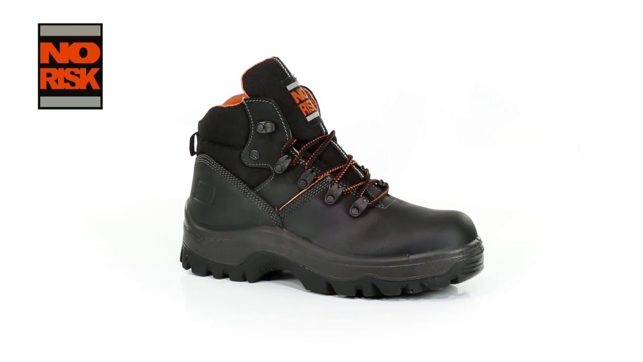NO RISK ARMSTRONG S3 SAFETY BOOTS 3