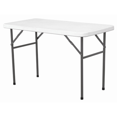 Solid Top Folding Table 122 x 61 x 74cm