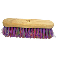Multi-Coloured Broomhead 12'' Complete with Handles