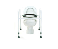 Adjustable Height Toilet Aid