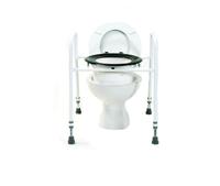 Adjustable Height Toilet Aid
