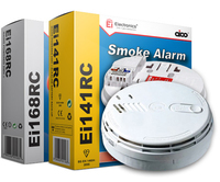 EI141 Mains Smoke Alarm Easi Fit ION