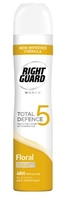 Right Guard Total Defence 5 Women Floral Power Aero 250ml