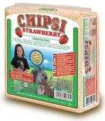Chipsi Plus Strawberry Shavings 60 Litre / 4kg x 1