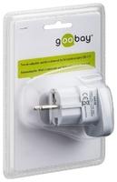 Goobay Travel Adaptor 3 to 2 Pin
