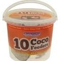 Suet to Go Half Filled Coconuts in Tub  x 10