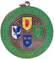 50mm Irish 4 Province Medallion (Bronze)