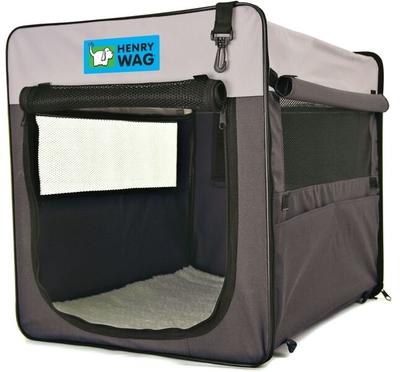 Henry Wag Canvas Pet Crate - Jumbo 88 x 57 x 63cm x 1