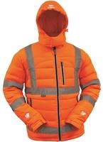 Bison Hi Vis TTMC-W17 Duck Down Puffer Jacket