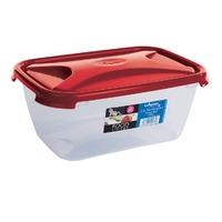 Cuisine 3.6ltr Food Storage Box Chili Red Lid