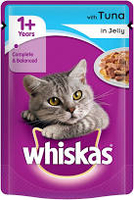 Whiskas Pouches Singles - Tuna in Jelly 100g x 24