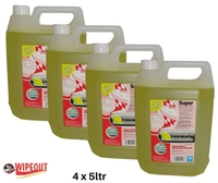 LEMON DISINFECTANT 4X5ltr